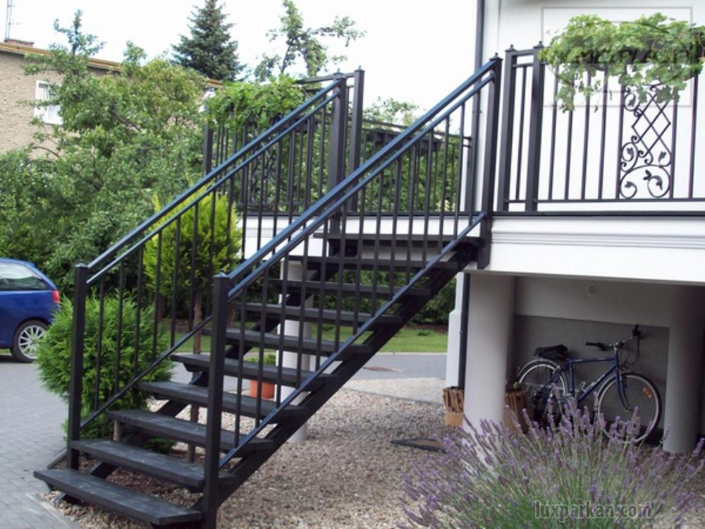 Лестницы из металла на веранду своими руками 82